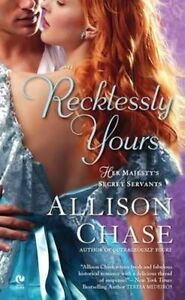 Recklessly Yours (Her Majesty's Secret Servants, Book 3)-ExLibrary