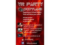 VR PARTY SCOTLAND VIRTUAL REALITY PARTY ENTERTAINMENT