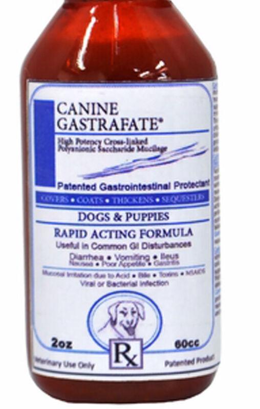 Vet Supply Gastrafate Dog Canine 2 oz Ulcers Diarrhea Intestinal Flare Up Vomit