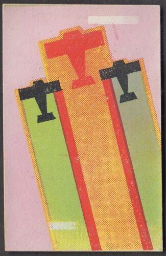 wq5 Japanse Militaristic propaganda 1930s Matchbox Label 3 fighters design