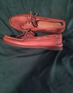 MENS SPERRY'S ONLY WORN ONCE