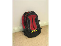 Backpack with multiple compartments