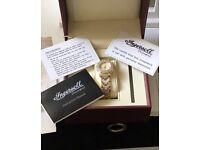 Ingersoll Diamond Watch - cost £ 495 new in exc working condition Ladies