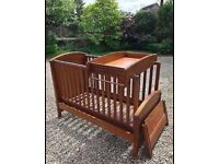 Mamas & Papas - Summerhouse Cot/Day/ToddlerBed/Baby Changer RRP £300