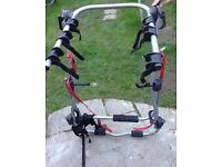 Halfords rear high mounted 3 bike carrier