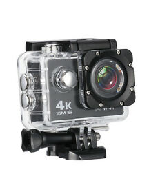 MixMart 4K 16M Action Camera Sports Camera with 2'' LCD Screen (new in box)