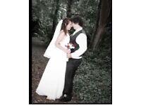 Wedding dress size 10 White Grecian