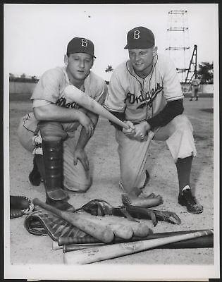 1947 Orig 1St Gen Press Photo   Edwards Tatum  Dodgers
