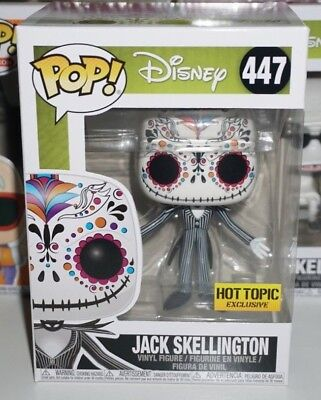 Funko Pop Jack Skellington Sugar #447 Disney Nightmare Before Christmas New