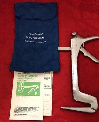 New Auto Suture Ta90 Premium Surgical Stainless Steel Stapler 010470