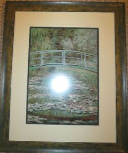 CLAUDE MONET FRAMED PICTURE