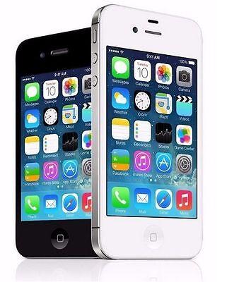 Apple iPhone 4-UNLOCKED-VERIZON-SPRINT-8GB,16GB,32GB-MINT CONDITION-W/WARRANTY!