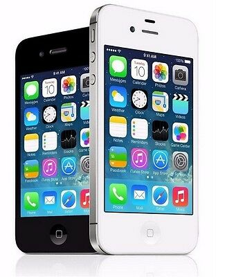 Apple iPhone 4 8GB 16GB 32GB Verizon - Straight Talk - Page Plus Cell Phone ()