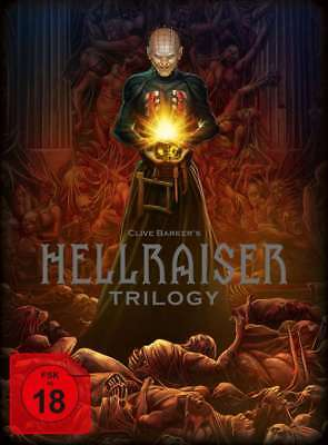 Hellraiser Deluxe Uncut Digipak 1 2 3 Trilogy 5 Blu-Ray Box Collectors Edition - Halloween Deluxe Blu Ray Box Set