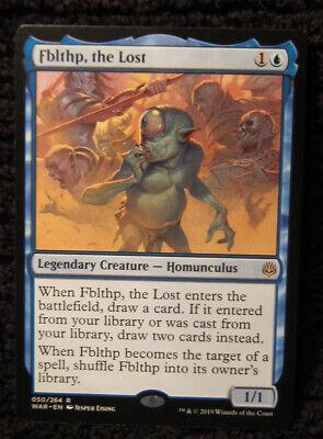 MTG Fblthp the Lost Blue Legendary Creature Homunculus War of the Spark