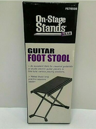 On Stage stands Guitar foot Stool