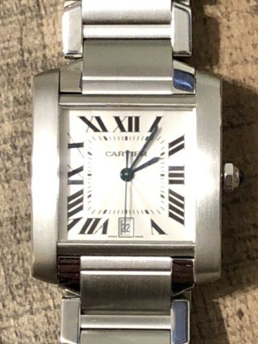 $1525.00 - Cartier Francaise Tank Ref. 2302 Mens Watch