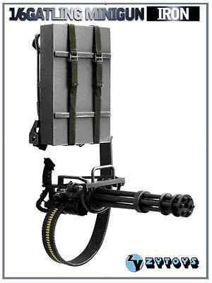 TD52-04 1/6 Gatling Minigun M134 (Iron) for sale  Shipping to United States