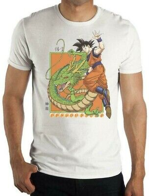 Dragon Ball Z SON GOKU & SHENRON T-Shirt Toei Animation Official licensed DBZ
