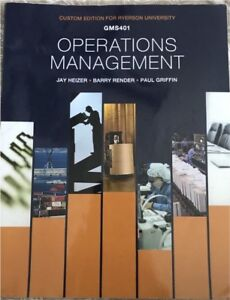 Operations Management GMS401