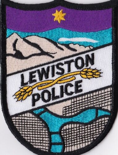 Lewiston Police Idaho Police patch