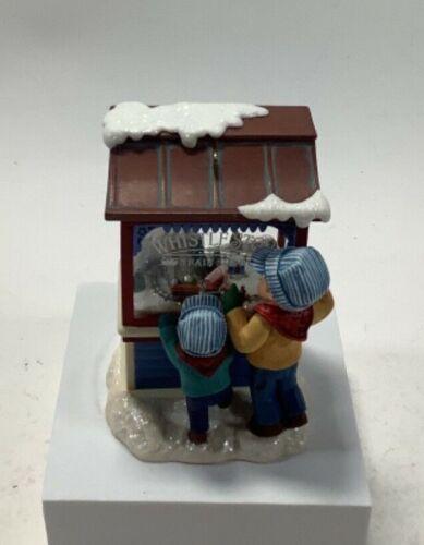 2007 Club Exclusive Hallmark Christmas Keepsake Ornament Whistle Stop Train Shop