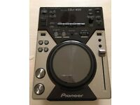 Pioneer cdj 400 cdj400 single deck FREE P&P in the UK VIA DPD - PAYPAL G&S WELCOME