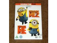 New & Sealed Despicable Me 1&2 Boxset