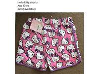 Hello Kitty shorts