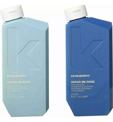 Kevin.Murphy Repair.Me.Wash 250ml and Repair.Me.Rinse 250ml 🎄 💝 Duo Set