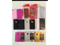 Phone cases for iPhone 4, battery charges and aluminium covers