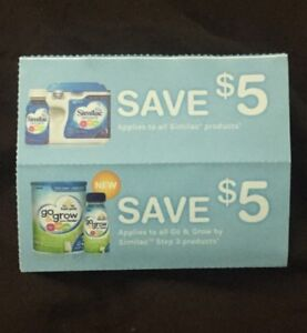 Few similac coupons. Looking to trade for $10 pampers coupons.