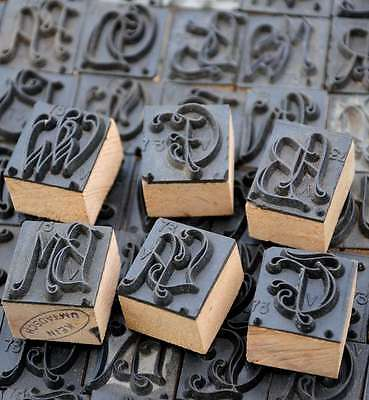 Wäschestempel Monogramm Wäscheschablone Textilstempel Stoffdruck Buchstaben