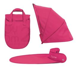 Oyster 2 hot pink carrycot colour pack