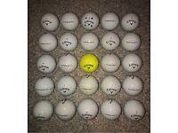 Callaway Chrome Soft x25 Grade B/C golf balls