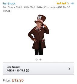 Kids mad hatter fancy dress