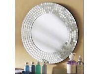 Ikea mosaic mirror