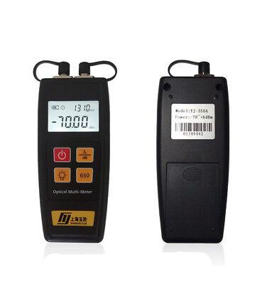 All-in-One Fiber Optical Power Meter 10mW Visual Fault Locator YJ-550 Mini Size Fiber Power Meter