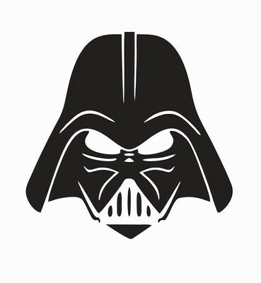 Darth Vader Star Wars Vinyl Die Cut Car Decal Sticker - FREE SHIPPING](Star Wars Decals)