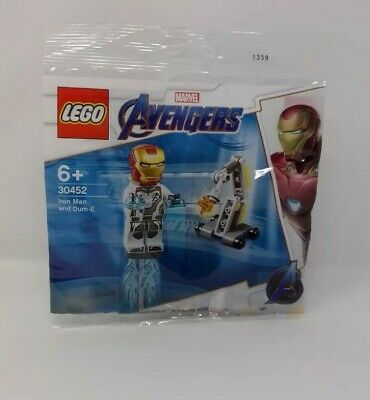 LEGO MARVEL 30452 Avengers Iron Man and Dum-E Poly Bag