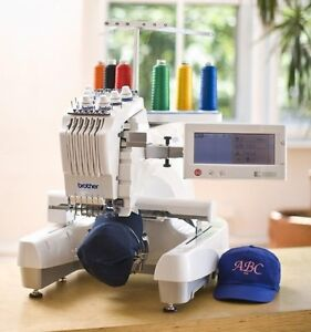 Brother PR 620 6 Needle Embroidery Machine Demo Model  EBay