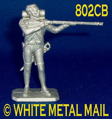 Napoleonic Casting 802CB 1:32 Napoleonic Infantry Standing Firing Bareheaded