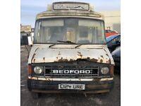 RARE 1985 BEDFORD CF AMBULANCE 2.0 AUTO CLASSIC PROJECT BARN FIND