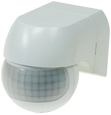 PIR-Bewegungsmelder weiß 180° für Innen + Außen LED geeignet max.12m 1-800W SLIM