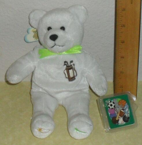 Holy Bears - Golf Original  Bear as a Golfer with tags