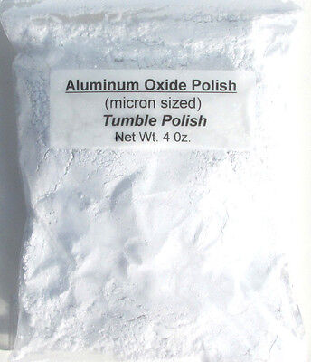 Rock Grit Tumbling Polish, Aluminum Oxide, Process 2 Full Loads in 3lb Tumbler