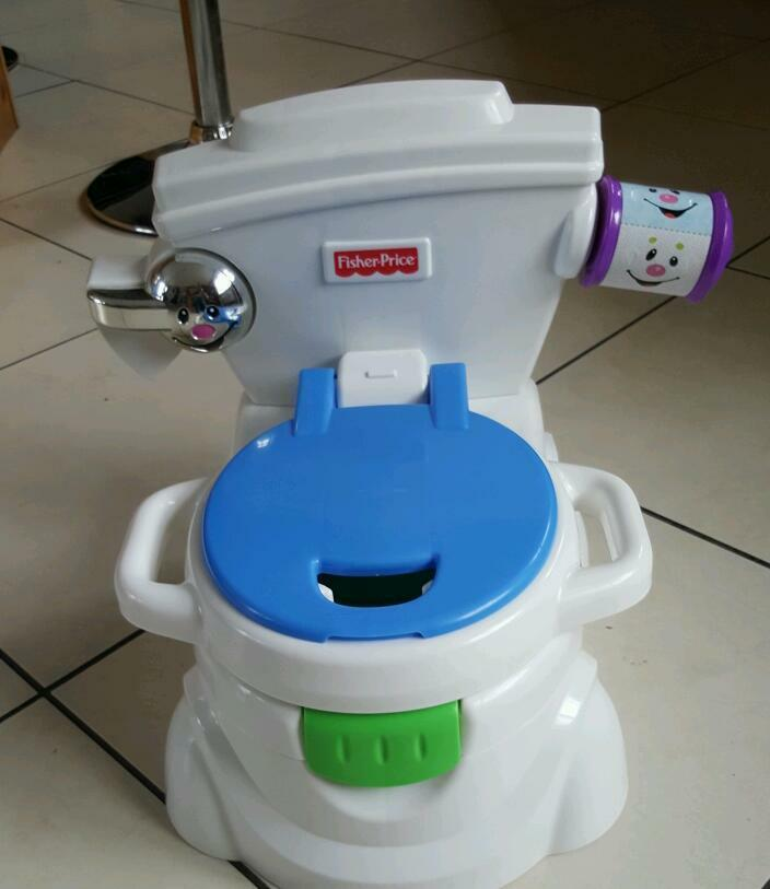 Fisher-Price Fisher-Price ® Learn-to-Flush Potty