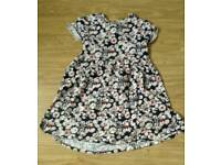 Debenhams blue zoo dress 9-10