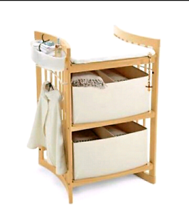 Stokke care convertible change table, shelving unit and desk Aberglasslyn Maitland Area Preview