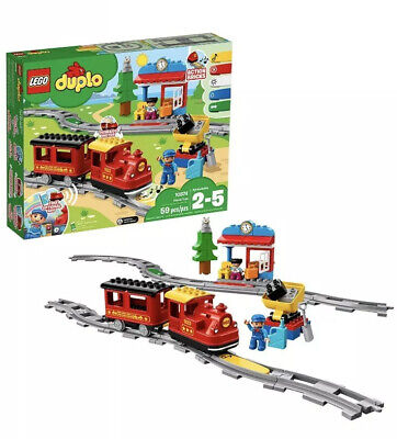 LEGO DUPLO 10874 Steam Train Brand New Sealed Box